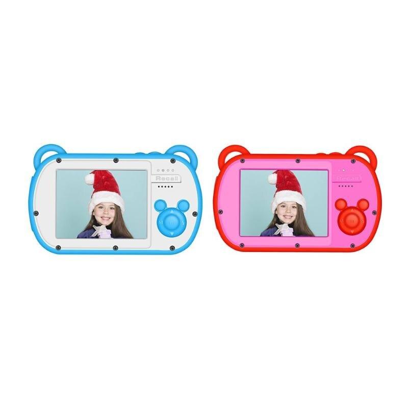 Mini caméra enfants 8X Zoom numérique 2.7 pouces écran enregistreur vidéo 18MP DSLR caméra caméscope pour enfants cadeau d'anniversaire