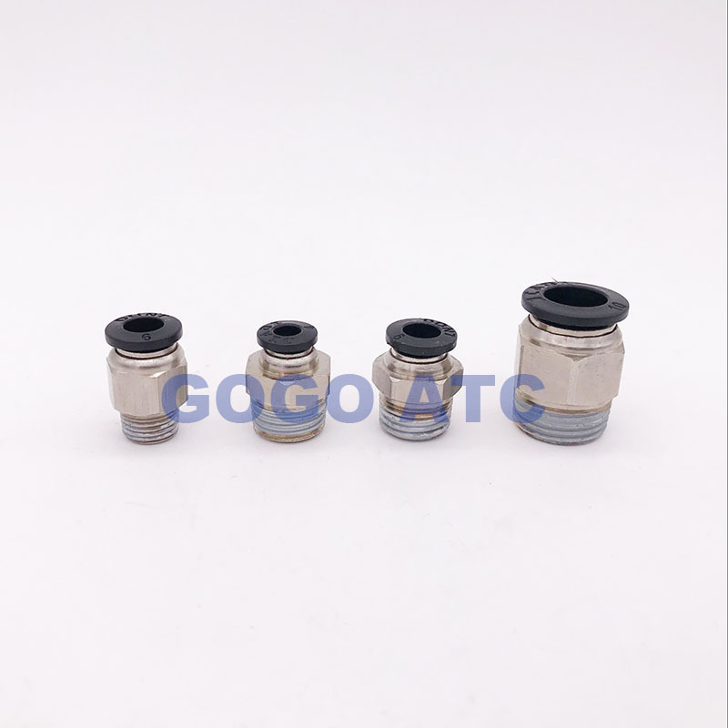 Fevas 8mm Tube Fitting Equal Union Tee Type One-Touch Coupling Pneumatic Push Pipe Fitting Tube Connector for Pneumatic Pipes