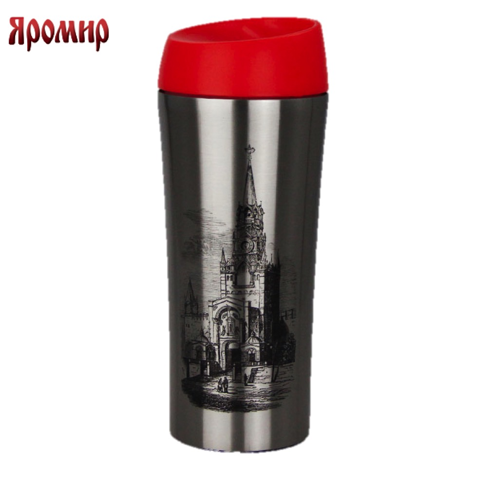 Vacuum Flasks & Thermoses Yaromir YAR-2405M thermomug thermos for tea Cup stainless steel water korean penguin vacuum cup water bottle mug coffee tea stainless steel thermos food jar thermal container insulated soup holder