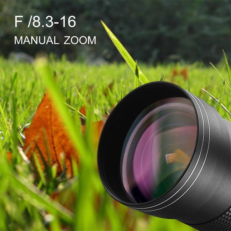 420 800mm F/8.3 16 Super Telephoto Manual Zoom Lens T Mount For DSLR SLR Cameras Canon EOS DSLR 600D 700D 650D 750D 1100D 1200D