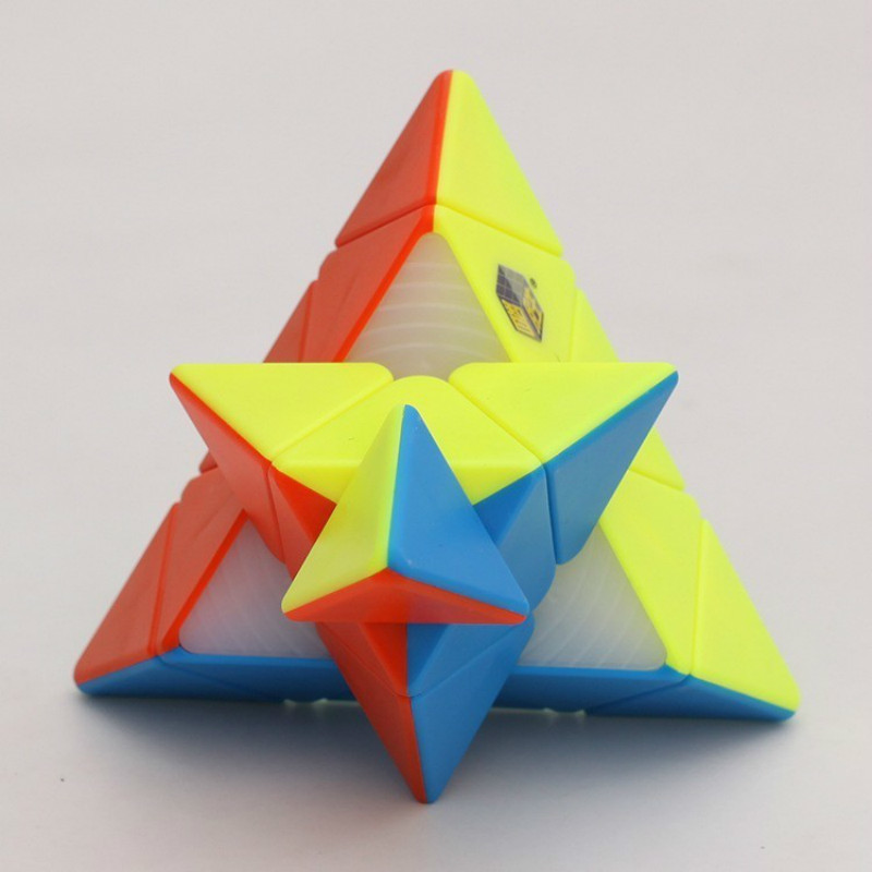 Yu Xin Full Brain Pyramid Cube Special-shaped Magic Neo Cube Candy Color Educational Toys For Children Fidget Spinner MoondropYu Xin Full Brain Pyramid Cube Special-shaped Magic Neo Cube Candy Color Educational Toys For Children Fidget Spinner Moondrop