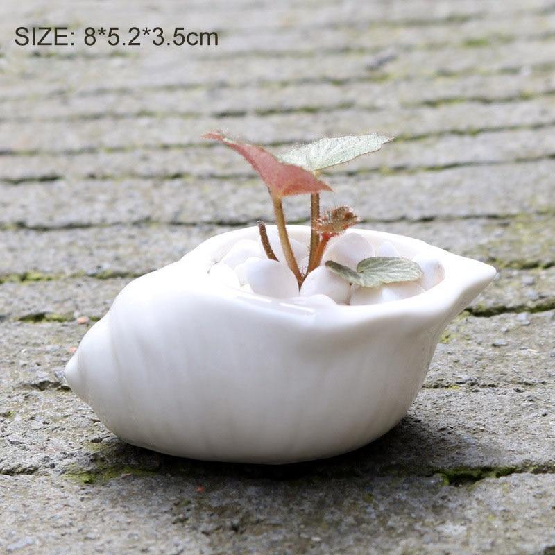 Paint Your Own Ceramic Keepsake Set of 2 The Little Lovable Elephant Succulent Planter