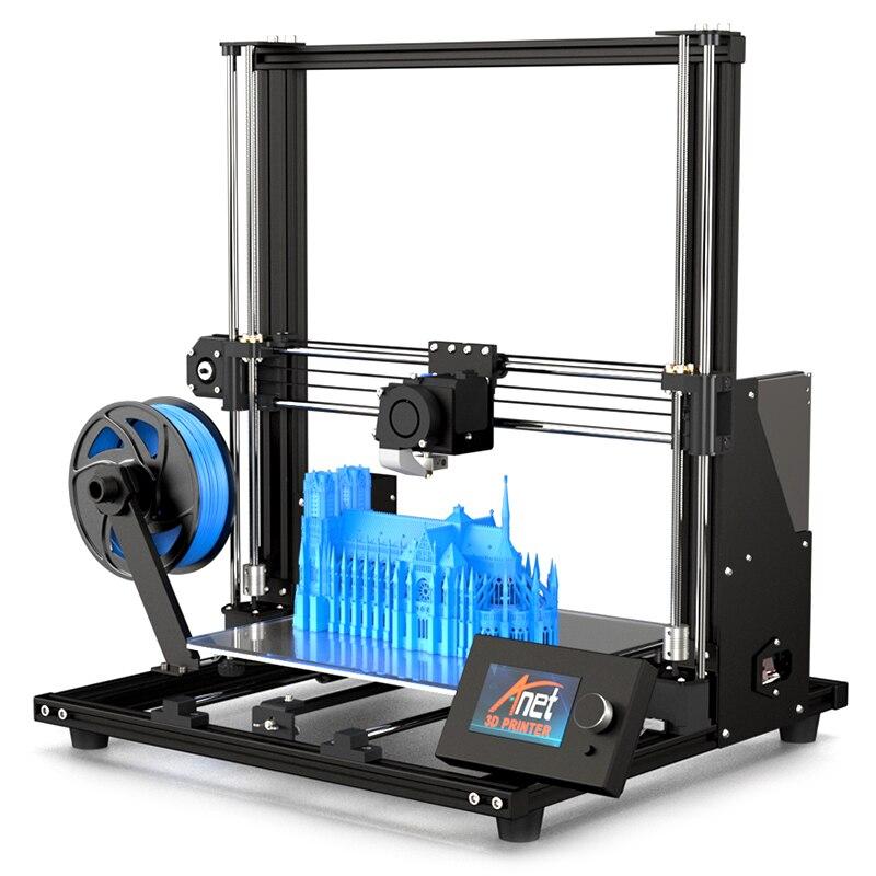 2019 Anet Date de Mise À Niveau A8 3D Imprimante FDM Impressora 3D Haute précision 3D Drucker 300x300x350mm grande Taille D'impression A8 Plus