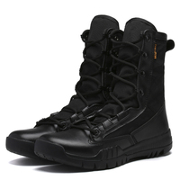 2019 New large size Anti Slip wear resistant high help combat boots Men High Quality Outdoor snow Shoes Military Ankle Boots