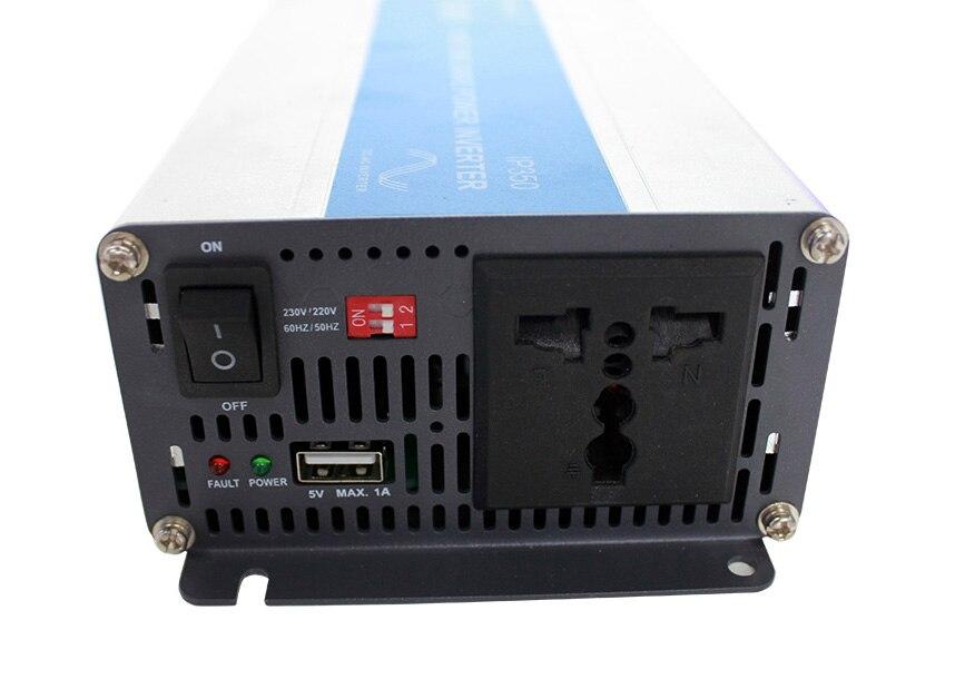 EPever IPower 500W 12V 24V DC Solar Panel Off Grid Tie Inverter 110V 220V AC ausgang Reiner Sinus Solar Inverter mit 1A 5V USB