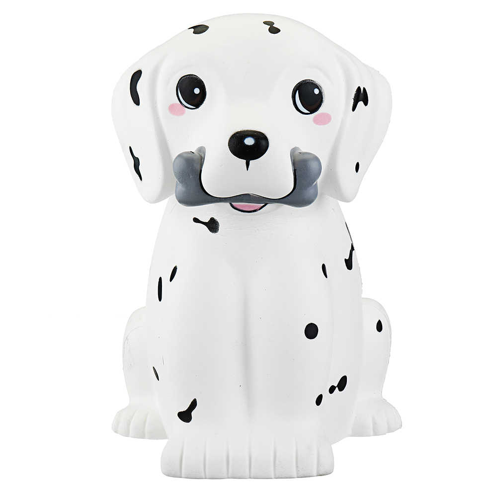 LEORY Super Jumbo Size Squishes Toys 30cm Spot Puppy Dog Animal Gift Decor PU Straps Slime toy Children Adult  Relieve Stress