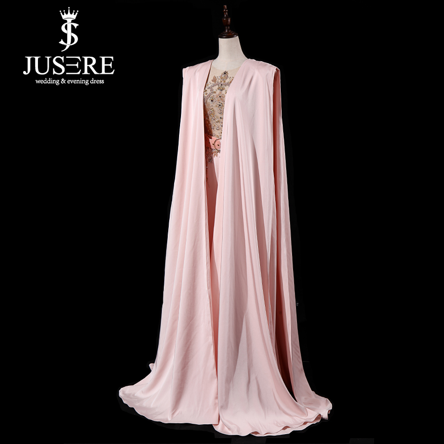 Image 3 - JUSERE Real Picture 2019 Pink Runway Evening Dress with Pants Long Evening Dresses Vestido de festaProm Dresses   -