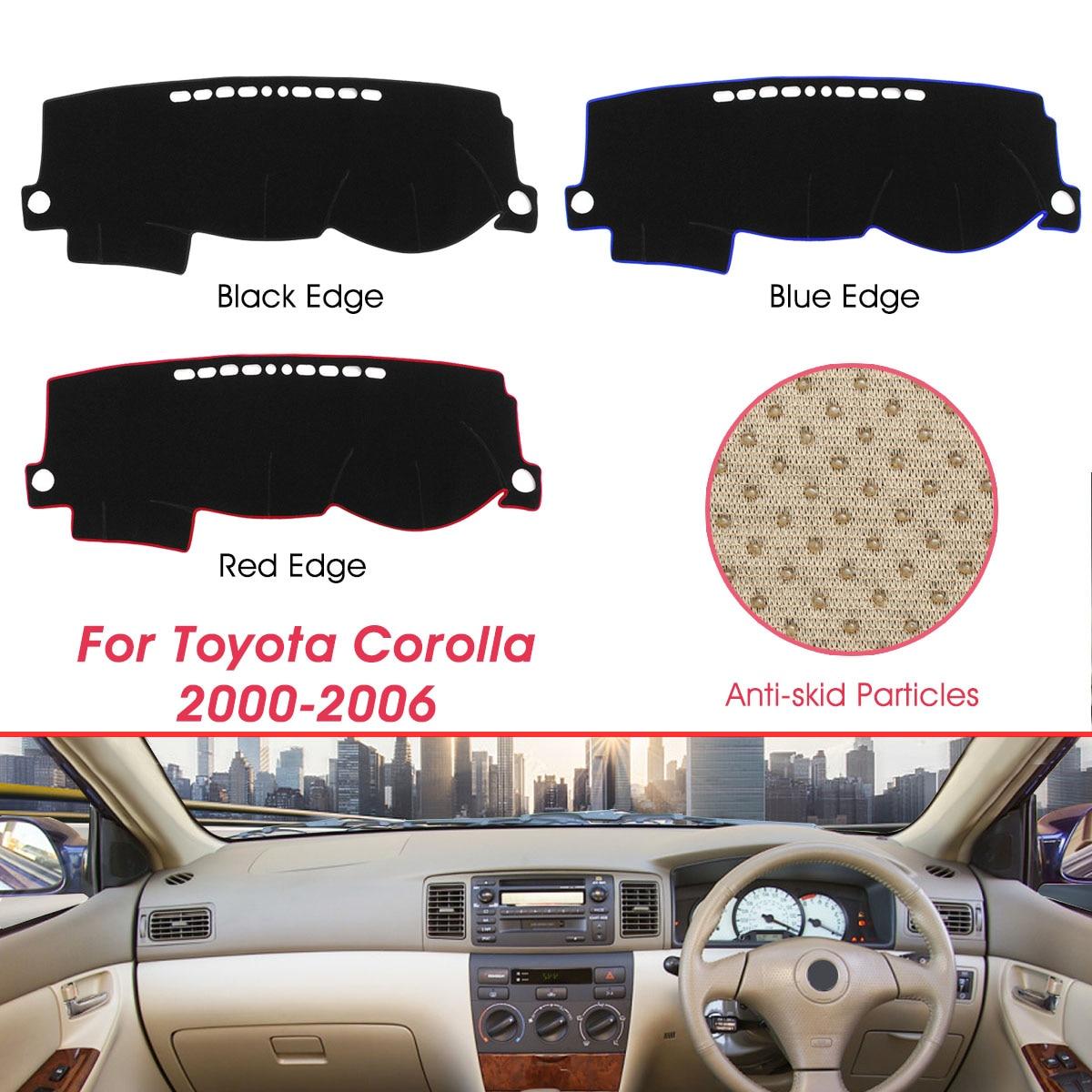 Dashboard Cover Anti-dirty Dash Mat Sunshade Carpet Dash Board Pad For Toyota Corolla 2000-2006