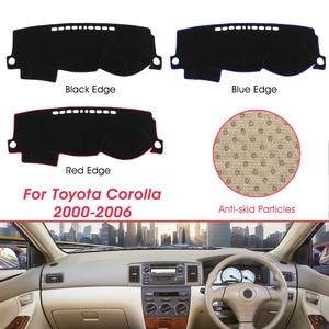 Dashboard Cover Anti-dirty Dash Mat Sunshade Carpet Dash Board Pad For Toyota Corolla 2000-2006(China)