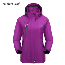 THE ARCTIC LIGHT Women Hiking Jacket Trekking Travel Fishing Autumn Windbreaker Waterproof Windproof Outdoor Camping Coat