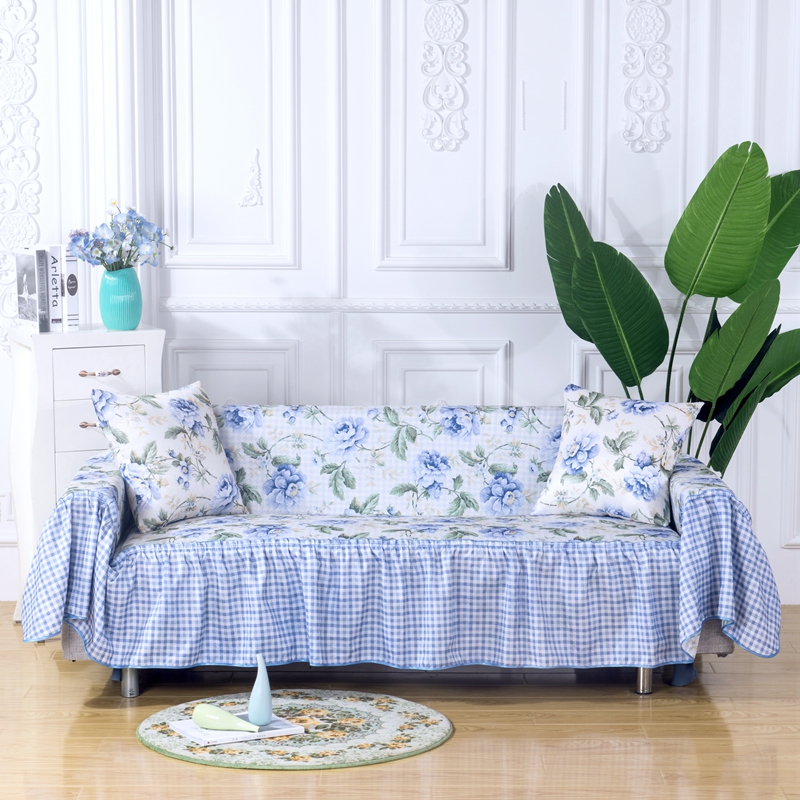 Four Seasons Universal Double-sided Lace Sofa Cover All-inclusive Universal Cover Towel Anti-slip Seat Cover Sofa Cover