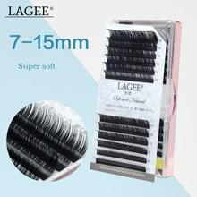 LAGEE 7-15 mm maquiagem cilios for professionals soft mink eyelashes Faux individual eyelash lashes extension