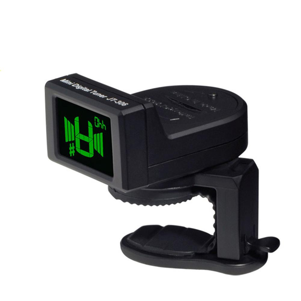 joyo mini guitar tuner digital lcd display clip on tuner for electric acoustic classic guitar. Black Bedroom Furniture Sets. Home Design Ideas
