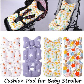 Baby stroller Cotton Cushion Seat Cover Mat Breathable Soft Car Pad Pushchair Urine Pad Liner Cartoon Star Mattress