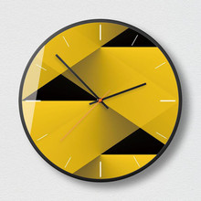 New Wall Clock 12Inch/14Inch Geometric Nordic Abstract Figure Series Clocks Modern Design Minimalist Dedicated
