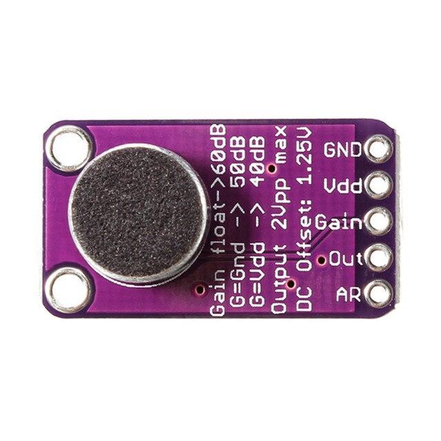 LEORY высокая эффективность микрофон усилитель с АРУ модуль CMA-4544PF-W для Arduino