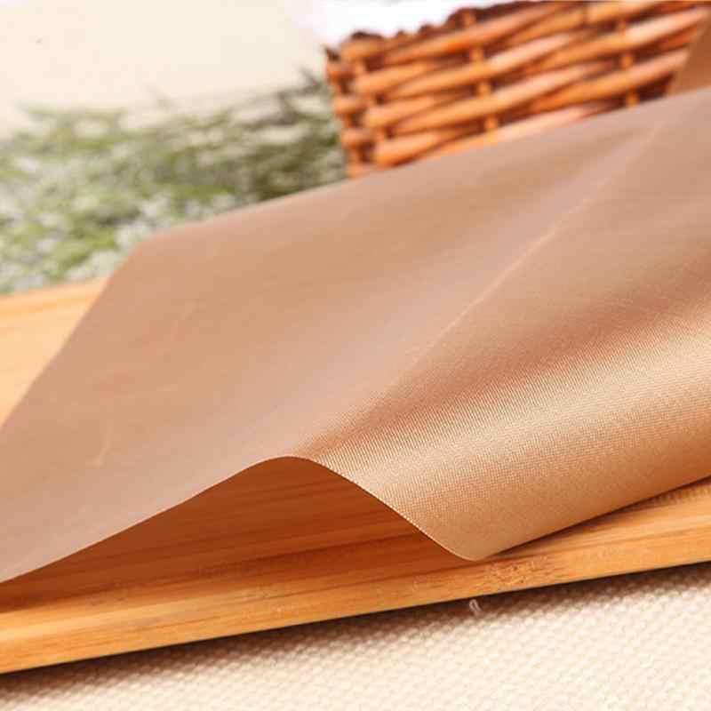 Riutilizzabile Teflon Antiaderente Carta Da Forno Forno Pasticceria Da Forno Zerbino Resistente Al Calore E Facile Da Pulire Barbecue Griglia di Cottura Copriletto Macarons