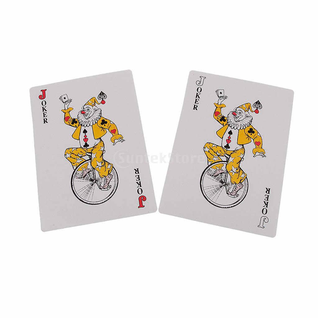 Высокое качество Twofold гигантские игральные карты волшебвечерние ная Вечеринка игра школа полные карты красный Забавный Паб Клуб семья вечерние Вечеринка колода подарок настольные игры