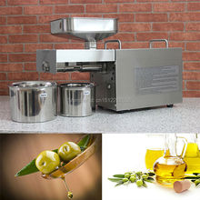 цены Stainless steel automatic small seed oil extraction machine, cold oil press, oil expeller, mini oil press machine for home