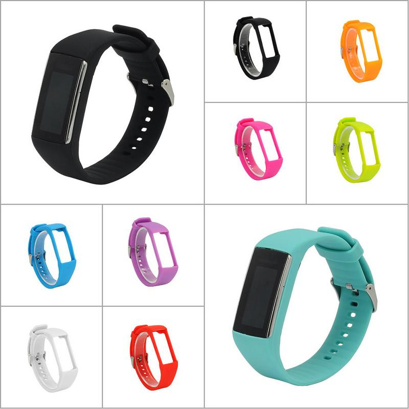 Image 5 - Universal Silicone Soft Replacement Watch Strap Wristband Smart Watch Smart Bracelet Accessories For Polar GPS Long Lasting-in Smart Accessories from Consumer Electronics