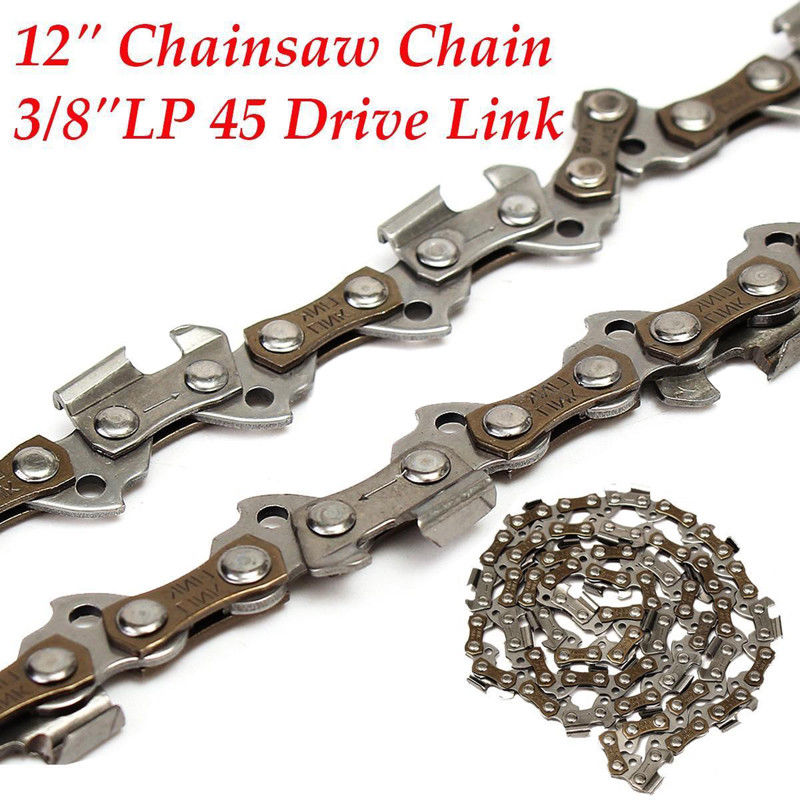 """12"""" 3/8""""LP 0.050""""Gauge 45DL Chainsaw Saw Chain Blade Sears/Crafts for Remington"""