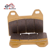2pcs Motorcycle Front Brake Pads For FZ 400 96 XT 660 04-13 XJR 400/1300 95-99 GSX 400/1200 CB 400 SF 97 Brake Parts недорго, оригинальная цена