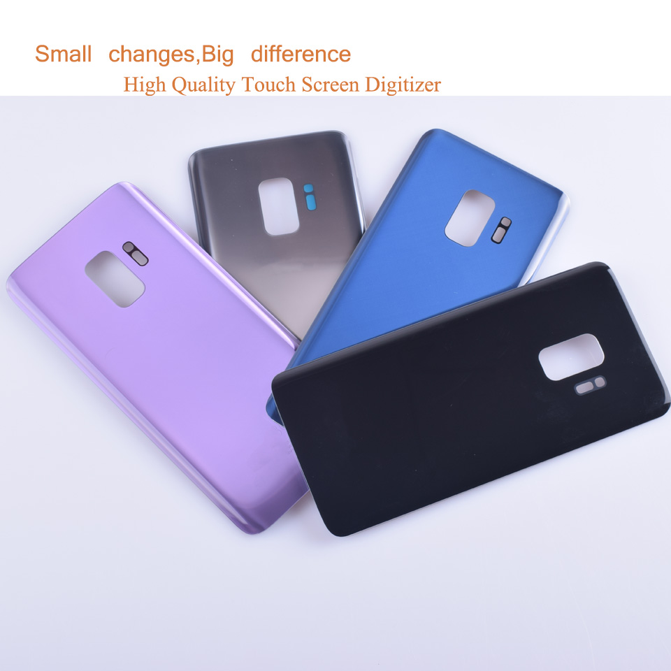 10Pcs/lot For Samsung Galaxy S9 <font><b>G960</b></font> G960F SM-G960F Housing Battery Cover <font><b>Back</b></font> Cover Case Rear Door Chassis S9 Housing Shell image