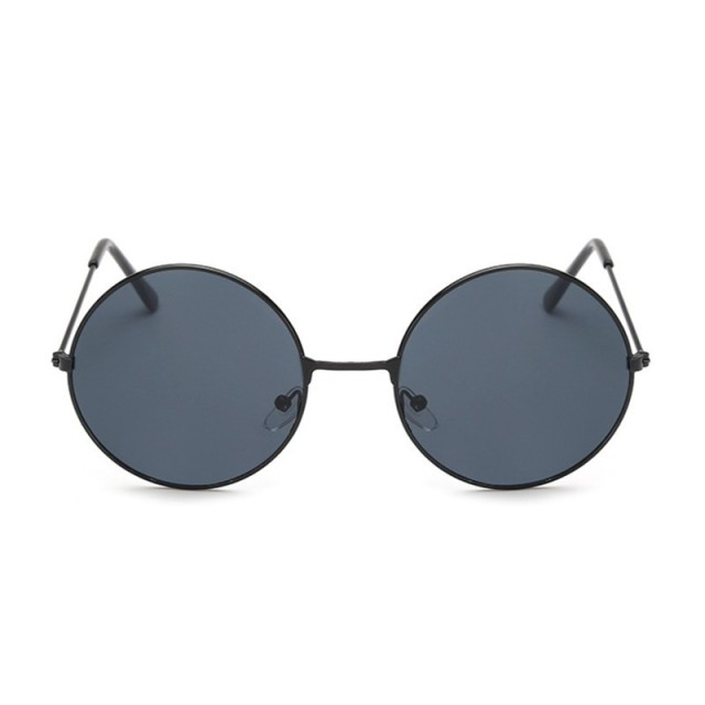 Retro Small Round Sunglasses Men Women Vintage Brand Shades Male Black Metal Sun Glasses For Men Fashion Designer Lunette