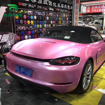 Car Styling Wrap Metal Lipstick Car Vinyl film Body Sticker Car sticker With Air Free Bubble For Motorcycle Car Tuning Parts