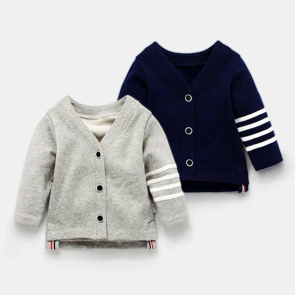2019 Baby Mantel Frühling Herbst Kinder England Stil Strickjacke Jungen Mädchen Oberbekleidung Kinder Kleidung Kaufen Sie Immer Gut