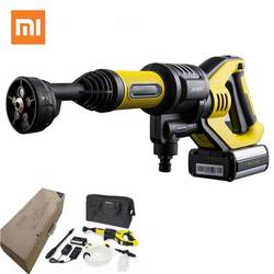 Xiaomi JIMMY JW31 Car Flush Gun Washing Gun JW31 Wireless Cordless Water Power Cleaner Garden Washer 5 Modes Adjustable Hose 6M