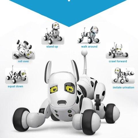 robo inteligente cao 24g controle remoto sem