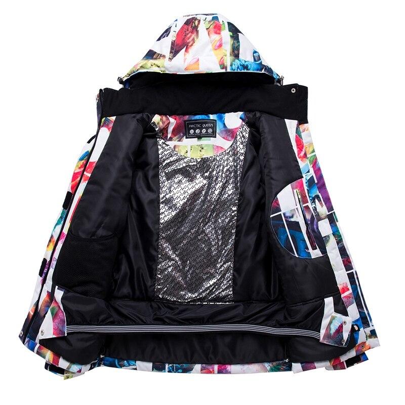 LGFM-ARCTIC reine Ski vestes femmes snowboard veste femme hiver Sportswear neige Ski veste respirant imperméable vent - 3