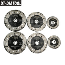 DT-DIATOOL 1pc Dia 75MM 115mm or 125mm Diamond Wheel Cutting Saw Blades Grinding Disc for Grind Sharpen Granite Marble Concrete