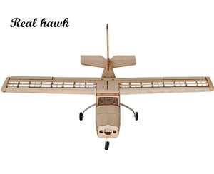 Image 4 - RC AirPlanes Laser Cut Balsa Wood Airplane Kit Cessna 150 Frame without Cover Wingspan 960mm Model Building Kit Woodiness model