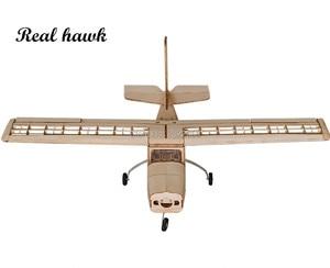 Image 4 - RC เครื่องบินเลเซอร์ตัดไม้ Balsa เครื่องบินชุด Cessna 150 กรอบไม่มีฝาครอบ Wingspan 960mm รุ่นชุด Woodiness รุ่น