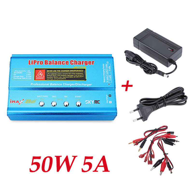Original SkyRC IMAX B6 50W 5A DC Lipo Li-polymer Battery Balance Charger Discharger with Power SupplyOriginal SkyRC IMAX B6 50W 5A DC Lipo Li-polymer Battery Balance Charger Discharger with Power Supply