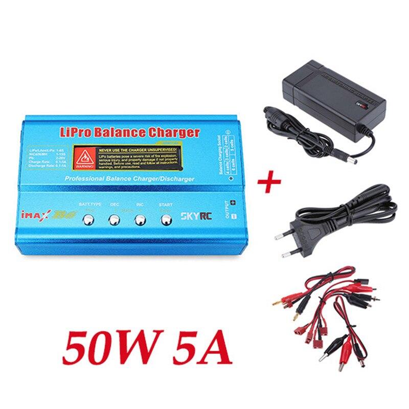 Origine SkyRC IMAX B6 50 W 5A DC Lipo Li-polymère Batterie chargeur de balance Déchargeurs avec alimentation