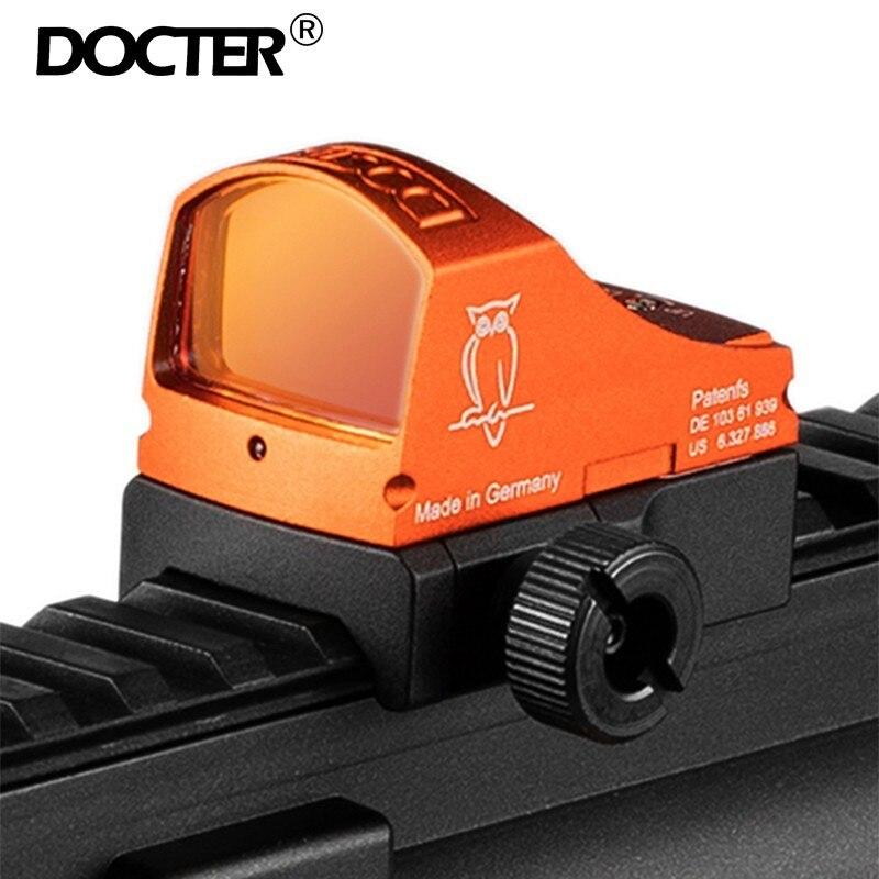 Éclairage automatique réflexe tactique point de vue rouge livré avec monture 20mm et monture Glock montures et accessoires de chasse