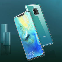 Transparent Soft Silicone Case For Huawei P30 P20 Lite Mate 20 lite Pro Nova 3 3i P Smart Clear Protective TPU Case on Honor 8X(China)
