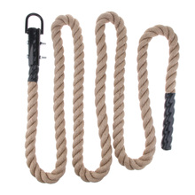 Durable Strong Climbing Rope Training Fitness 38mm Diameter Comfortable Grip