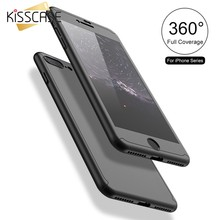 KISSCASE Full Protection Case For Xiaomi Pocophone F1 Tempered Glass Case For Redmi Note7 6 5A 5 Pro 4X 4 Capinhas Funda Capa(China)