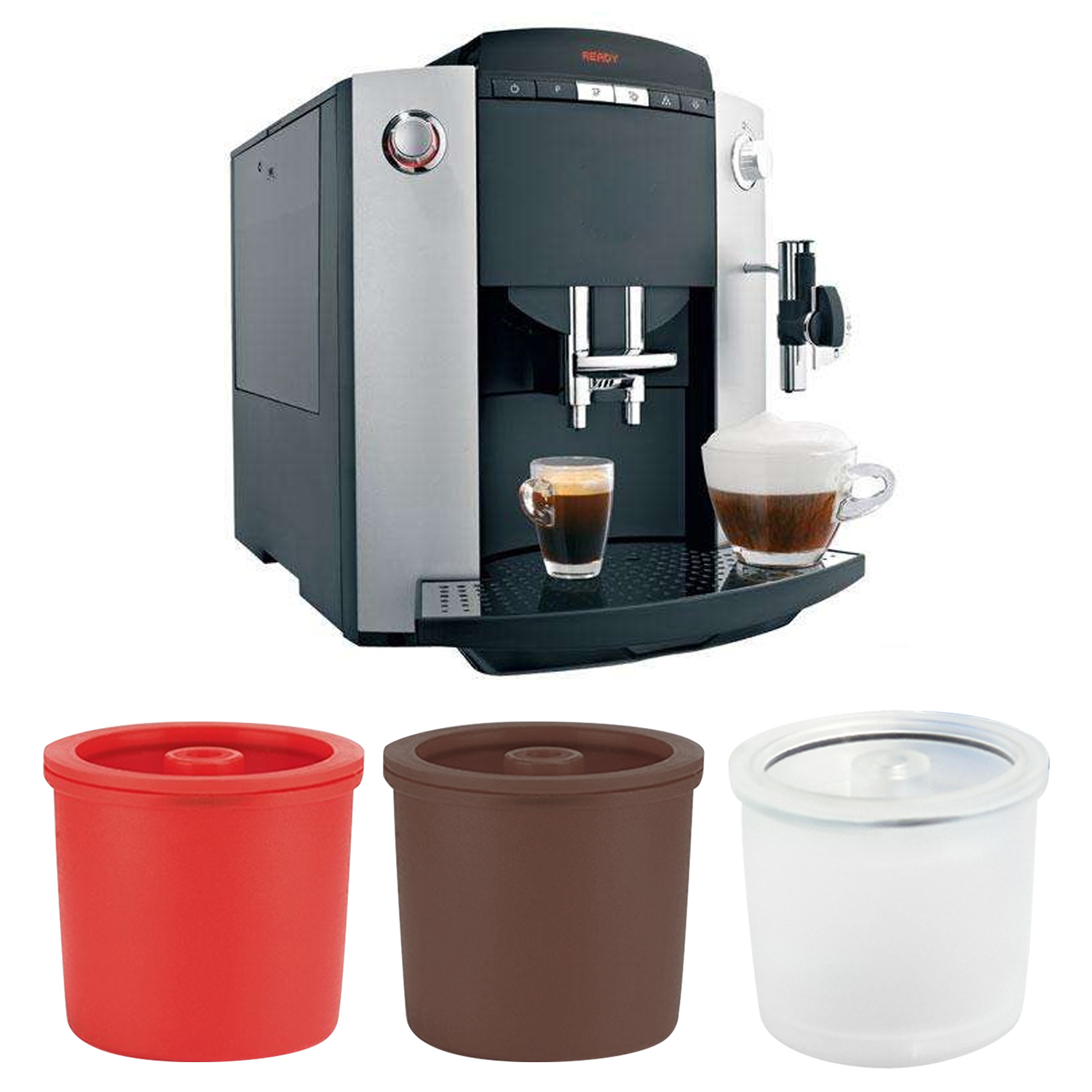 Behogar Refillable Reusable Capsule Cup Filter for Illy Espresso Coffee Machine cup