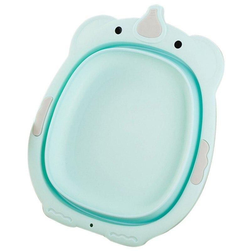 Bad & Dusche Produkt Babywanne Herzhaft Kinder Klapp Waschbecken Baby Ass Wash Tragbare Baby Waschen Becken Kunststoff Shatter Proof Badewanne Gesicht Fuß Waschbecken AusgewäHltes Material