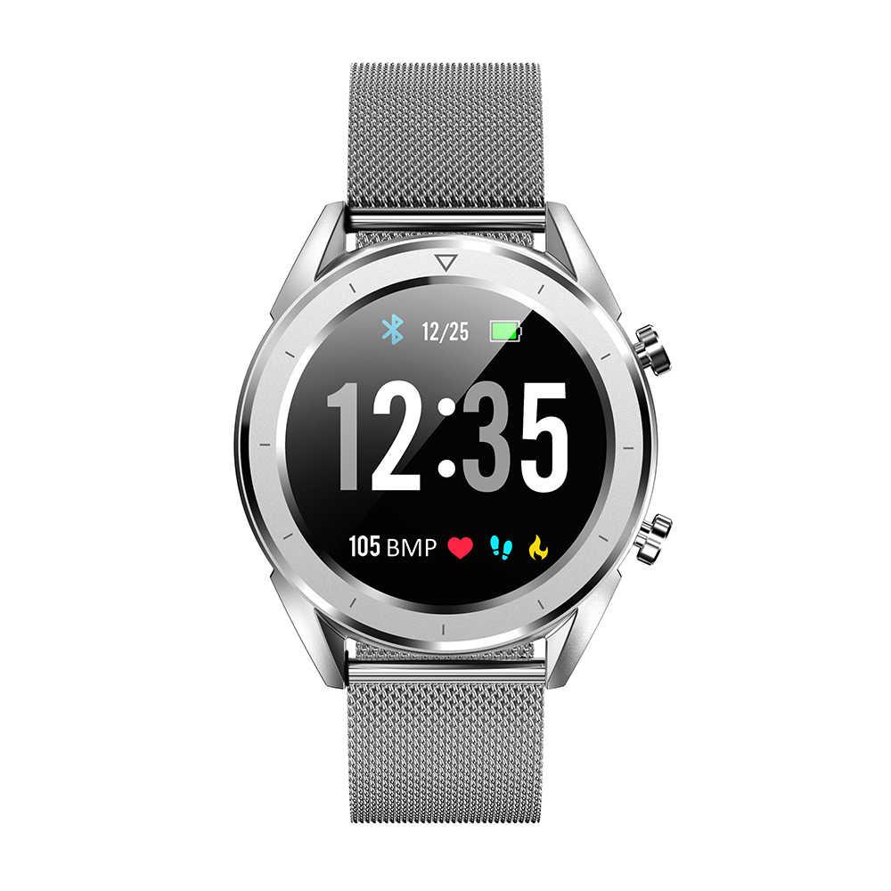 DT NO 1 DT28 1 54 Big Display Smart Watch ECG IP68 Heart Rate Blood  Pressure Mobile Payment Business Smart Fitness Smartwatch