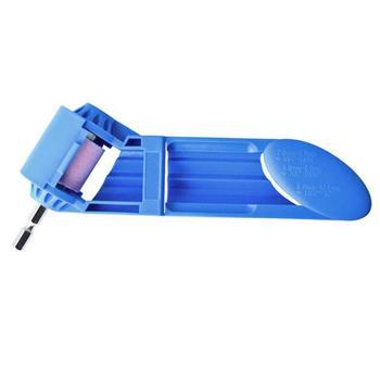 Afilador de eliges brocas portátil de 2-12,5mm rueda de molienda de corindón para amoladora