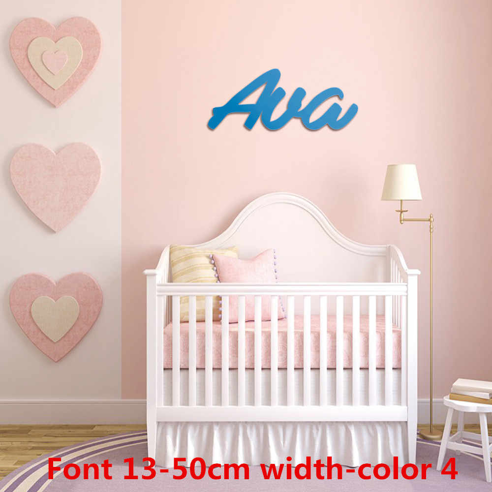 Personalized Name For Above Crib Wooden