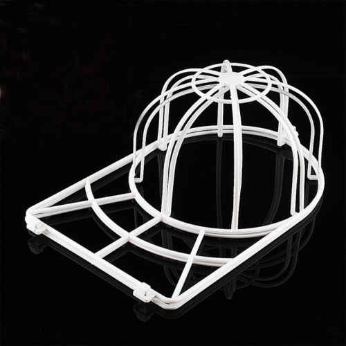 2019 New Plastic White Cap Washing Cage Baseball Ball cap Hat Washer Frame Shape Airer Ball Visor Cap Washer