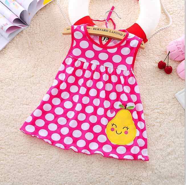 72c0dc73d261 Top Quality Baby Dresses 2018 Princess 0-1years Girls Dress Cotton Clothing  Dress Summer Girls