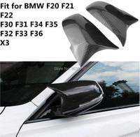 For BMW F30 F32 F33 F20 F22 F23 F36 X1 Mirror M3 M4 Look Rear View Mirror Cover For F20 F30 F22 F36 F23 F87 M2 R+L